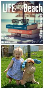 Life is a Beach Giveaway Hop – Win a RockABye Wooden Rocker
