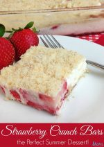 Strawberry Crunch Bars – #12DaysofSweet