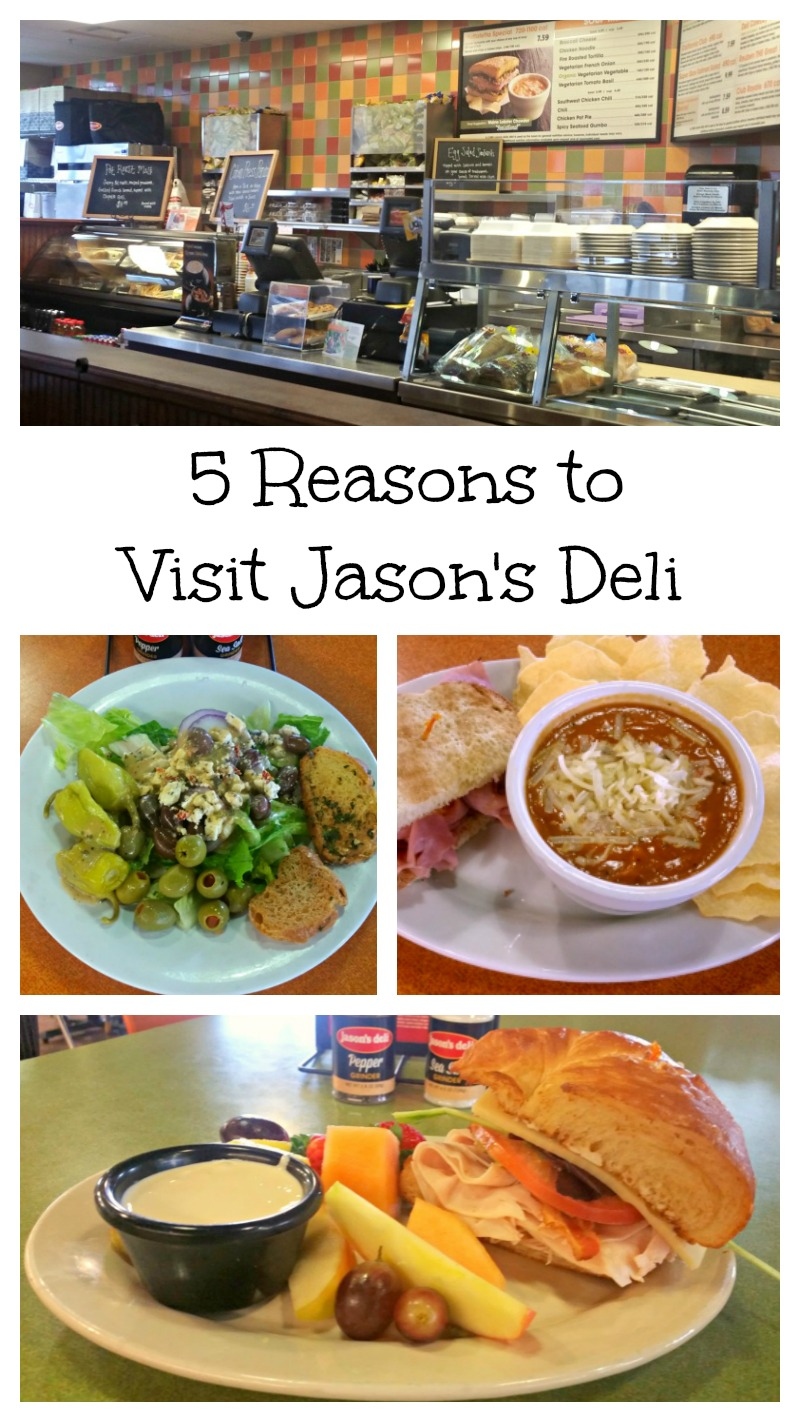 graphic relating to Jason's Deli Printable Menu named 5 Factors in the direction of Stop by Jasons Deli - Cafe Evaluation