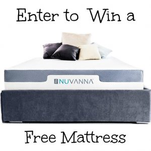 Win a Nuvanna Mattress