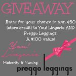 You! Lingerie & Preggo Leggings Gift Card Giveaway
