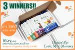 Amara Organic Baby Food Giveaway (3 winners)