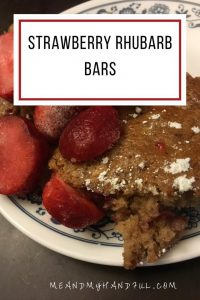 Strawberry Rhubarb Bars – #12DaysofSweet