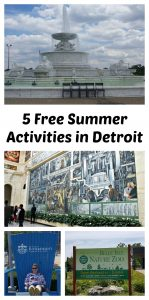 5 Free Summer Activities in Detroit