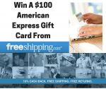 $100 American Express Gift Card From FreeShipping.Com #LoveFreeShipping