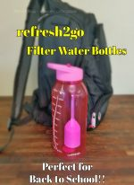 Refresh2go Milestone Water Bottle Giveaway
