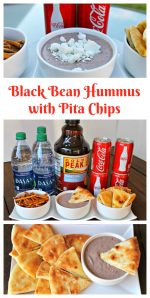 Celebrate Back to School With Black Bean Hummus & Homemade Pita Chips
