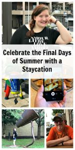 Celebrate the Final Days of Summer with a Staycation