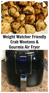 Air Fryer Weight Watchers Crab Wontons