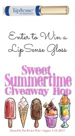 LipSense Gloss Giveaway & Sweet Summertime Giveaway Hop