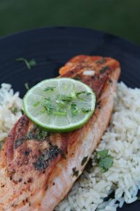 Cilantro Lime Salmon – 30 Days of #EasyDinners