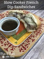 Slow Cooker French Dip Sandwiches – 30 Days of #EasyDinners