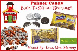 Palmer Candy Back To School Giveaway!