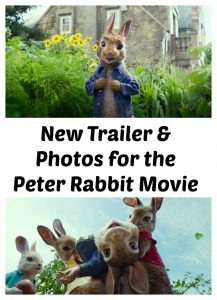 New Peter Rabbit Movie Trailer and Photos