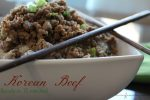 Korean Beef- 30 Days of #EasyDinners