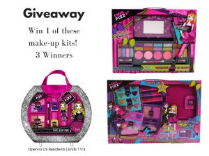 Pink Fizz Girl's Make-up Kits Giveaway