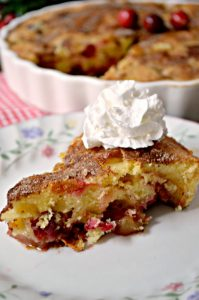 Apple Cranberry Cake – 30 Days of #ChristmasSweets