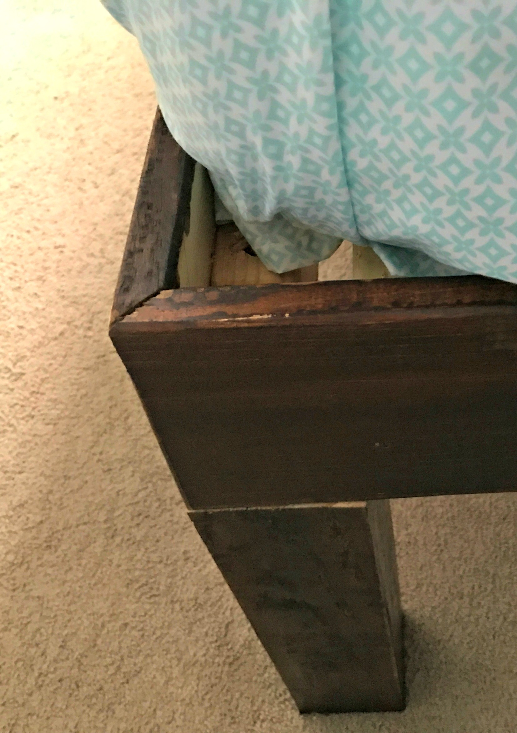 How To Make A Platform Bed For A Memory Foam Mattress Finding Sanity In Our Crazy Life