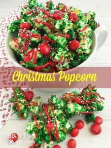 Homemade Christmas Popcorn – 30 Days of #ChristmasSweets