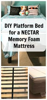 How to Make a Platform Bed for a Memory Foam Mattress