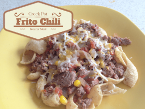 Slow Cooker Frito Chili – 30 Days of #EasyDinners