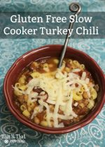 Gluten Free Slow Cooker Turkey Chili – 30 Days of #EasyDinners