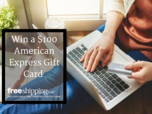 $100 American Express Gift Card Giveaway from FreeShipping.com – #Holidays2017