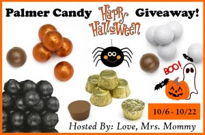 Happy Halloween Palmer Candy Giveaway