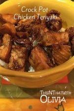 Slow Cooker Chicken Teriyaki – 30 Days of #EasyDinners