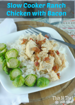 Slow Cooker Ranch Chicken – 30 Days of #EasyDinners