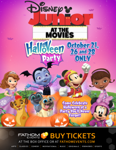 Join Disney Junior at the Movies: HalloVeen Party & Giveaway