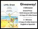 Win a Copy of Little Green & a $25 Amazon Gift Card