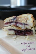 Grilled Cheese and Jelly Sandwiches – 30 Days of #EasyDinners