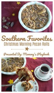 Christmas Morning Pecan Rolls – 30 Days of #ChristmasSweets