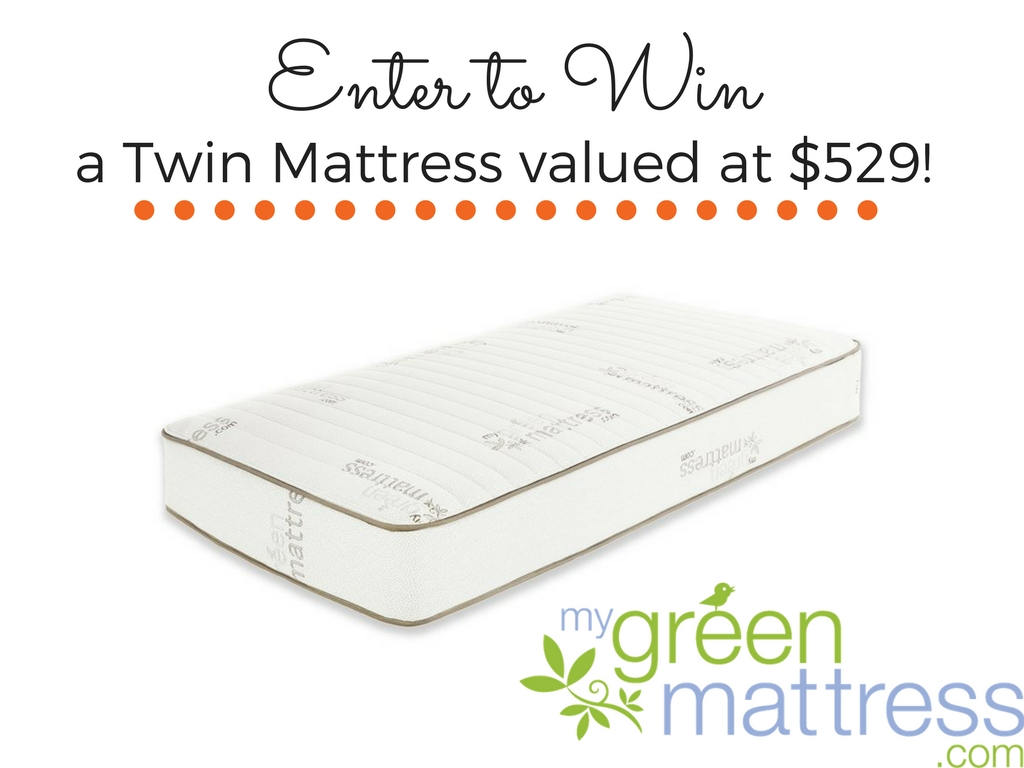 My Green Mattress Giveaway | Finding Sanity in Our Crazy Life