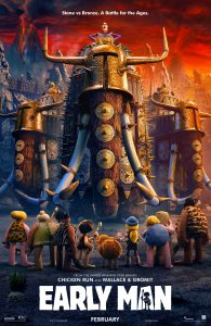 Teaser Trailer & Poster for EARLY MAN – #EarlyMan