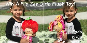 Flip Zee Girls Plush Toy Giveaway