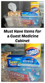 How to Assemble a Guest Medicine Cabinet for a Healthy Holiday