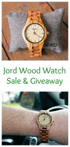 Jord Wood Watch Sale & Giveaway For Holiday Gift Giving