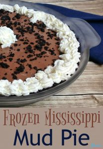 Frozen Mississippi Mud Pie – 30 Days of #ChristmasSweets