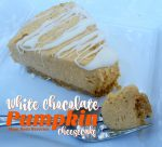 White Chocolate Pumpkin Cheesecake – 30 Days of #ChristmasSweets