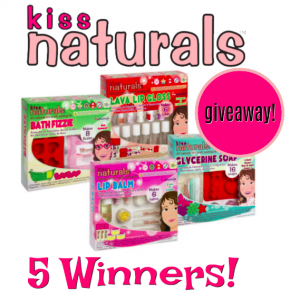 Kiss Naturals DIY Kit Giveaway