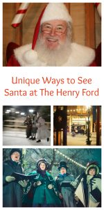 Unique Ways to See Santa at The Henry Ford