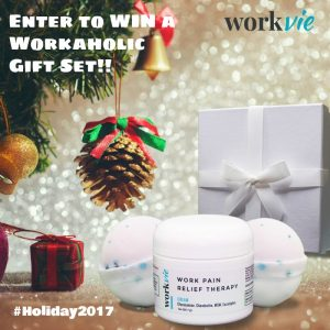 Workvie Workaholic Eucalyptus Gift Set Giveaway