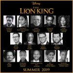 Check out the Cast of the All-New Big Screen Adventure THE LION KING – #TheLionKing