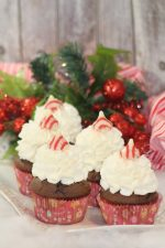 Peppermint Kisses Chocolate Cupcakes Recipe – 30 Days of #ChristmasSweets