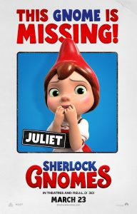 SHERLOCK GNOMES New Movie Trailer & Posters – #SherlockGnomes