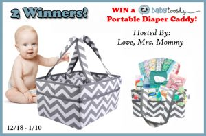 Baby Tooshy Diaper Caddy Organizer Giveaway