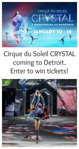 Crystal Cirque du Soleil Coming to Little Caesars Arena & Giveaway