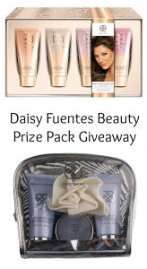 Daisy Fuentes Beauty Prize Pack – Winter is Coming Giveaway Hop